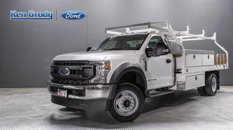 New 2020 Ford Super Duty F-550 DRW XL With 14 Contractor